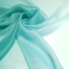 Organza verde aqua in degrade