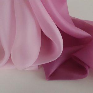 Organza in degrade roz spre lila