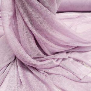 Tul roz antic din matase naturala