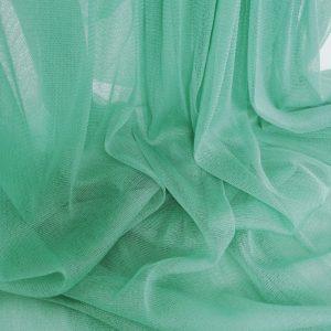 Tul verde aqua din matase naturala