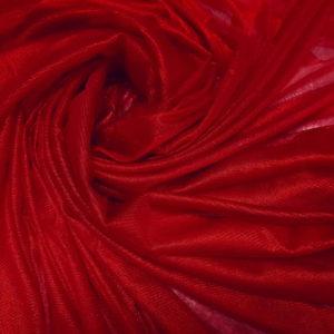 Tul rosu sange peliculizat din matase naturala