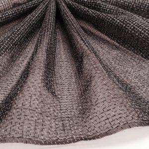 Crinolina neagra cu insertii de fir textil