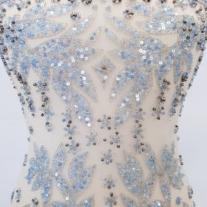 Broderie ice blue