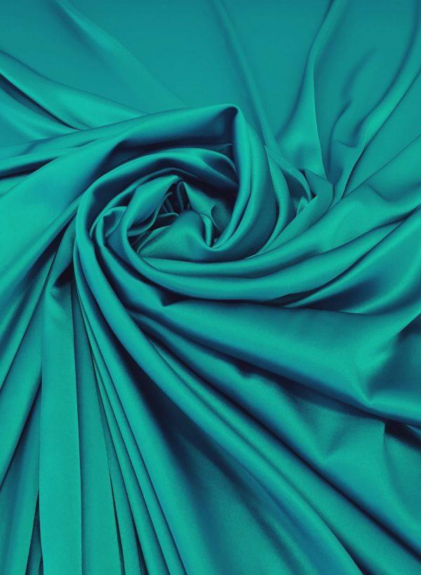 Matase naturala turquoise
