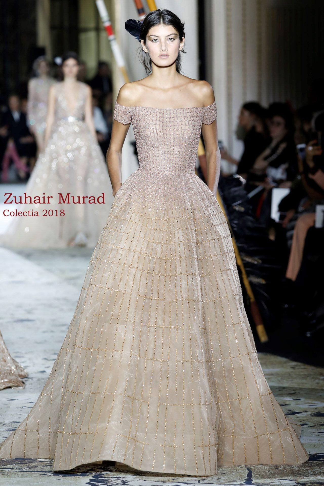 Broderie Nude Pudra Cu Motive Geometrice Design Zuhair Murad