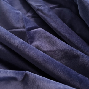 Catifea bleumarin din bumbac