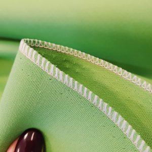 Stofita verde greenery din matase naturala 100%