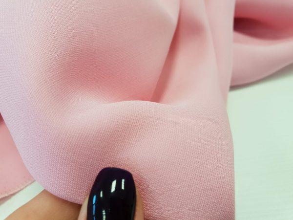 Stofita roz deschis din matase naturala 100%