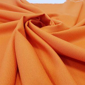 Stofa portocalie din lana 100%