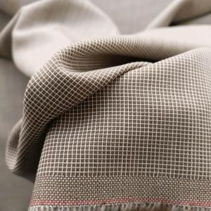 Stofa maro pentru costum din lana 100%