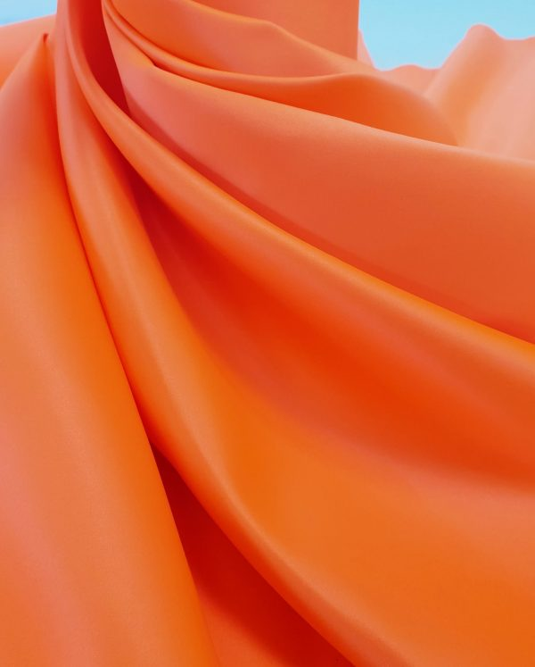 Tafta Duchesse portocalie