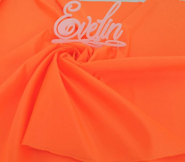 Tafta Duchesse portocaliu neon