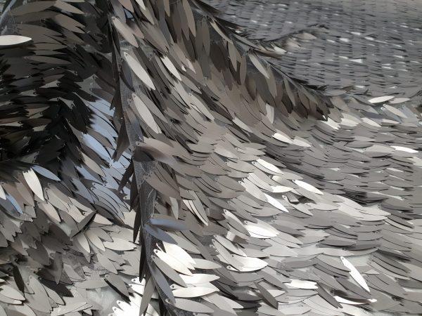 Paiete couture gri otel
