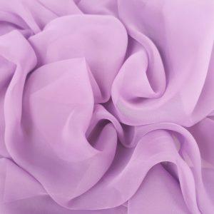 Voal chiffon lila