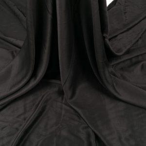 Tesatura neagra din matase naturala si bumbac