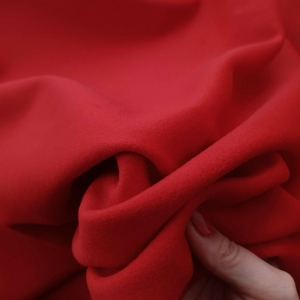 ARM479 Stofa rosu sange cu lana si casmir