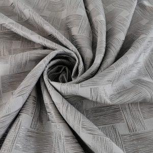 Brocard argintiu texturat