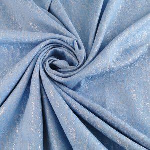 Brocard baby blue cu insertii argintii
