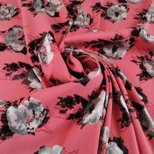 Brocard pink & black cu flori