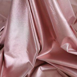 Jacard roz pudra argintata cu aspect metalizat