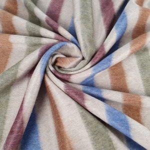 Stofa multicolora cu lana alpaca