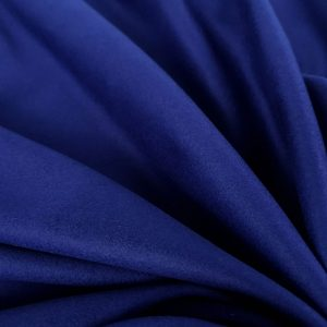 Stofa albastru cerneala din casmir si lana