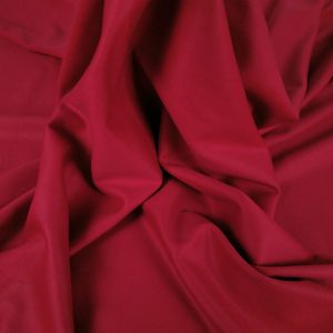 Stofa rosu sange din casmir si lana