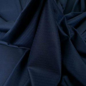Stofa costum din lana virgina bleumarin