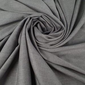 Stofa gri din lana 100% pentru costum