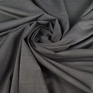 Stofa dark grey cu matase naturala pentru costum