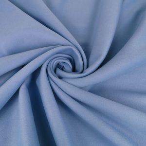 Stofa dubla bleu cu lana
