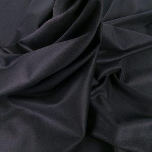 Stofa neagra din casmir si lana