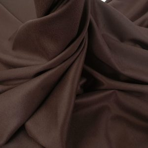 Stofa dark chocolate din casmir si lana
