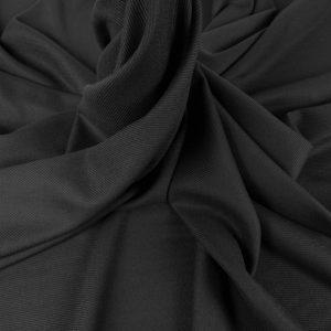 Stofa neagra din lana
