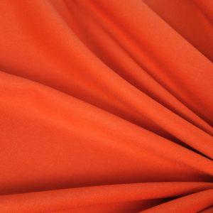 Stofa orange din casmir si lana