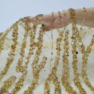 Broderie couture gold lucrata 100% manual