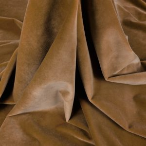 Catifea maro camel din bumbac