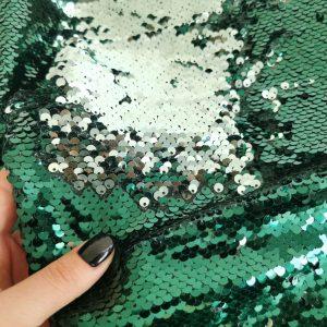 Paiete reversibile verde jad