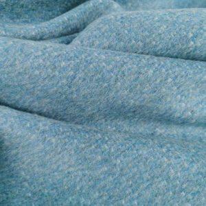 Stofa aqua blue cu mohair