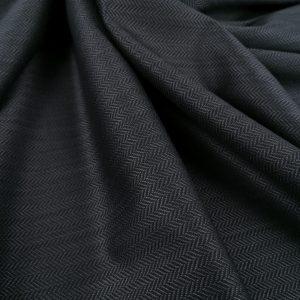 Stofa neagra bradulet pentru costum