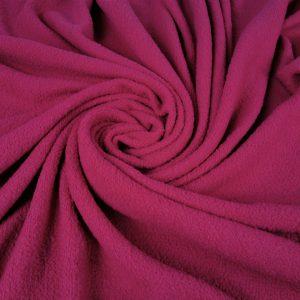 Stofa boucle fuchsia din lana 100%