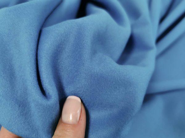 Stofa baby blue din casmir si lana