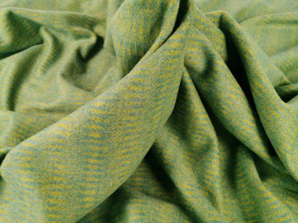Stofa green & yellow cu mohair