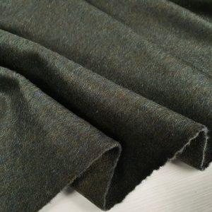 Stofa verde militar din lana virgina 100%