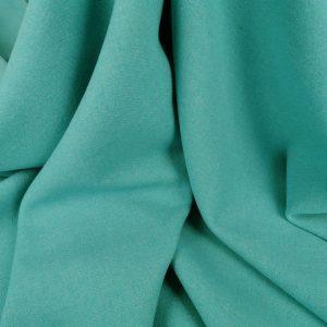 Stofa groasa turquoise cu lana virgina