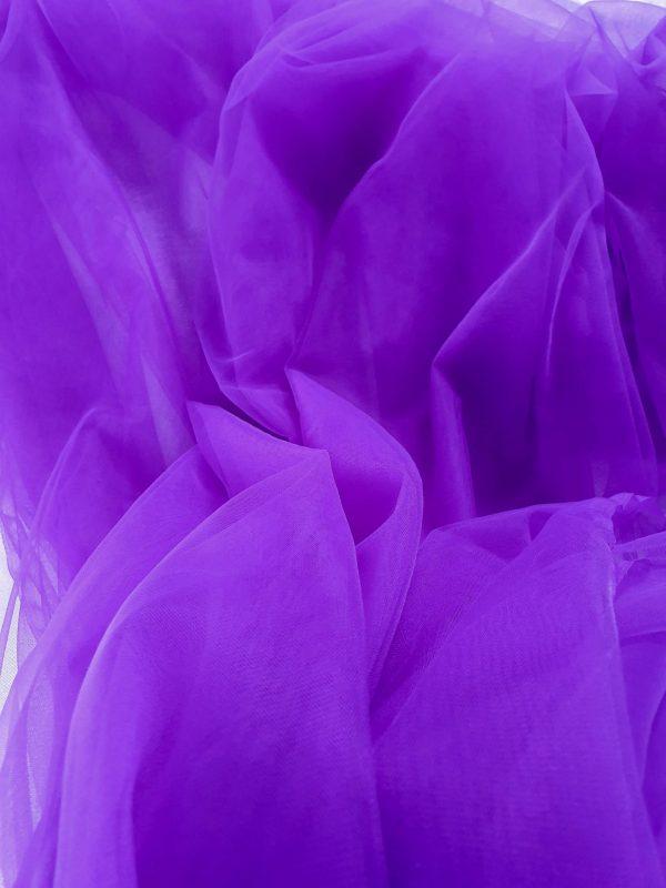 Tul fin purple