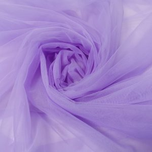 Tulle de constructie lila