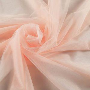 Tul fin peach roze