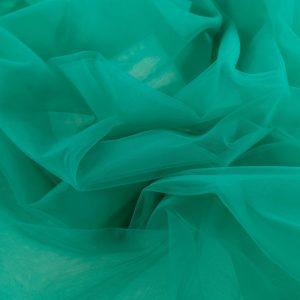 Tul fin verde marin