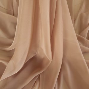 Voal chiffon light brown